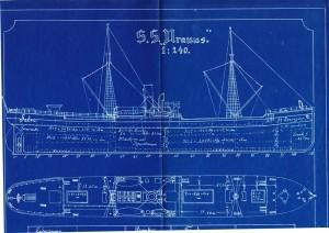 Uranus 1870 Riss