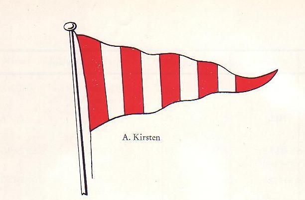 Wimpel Reederei A. Kirsten