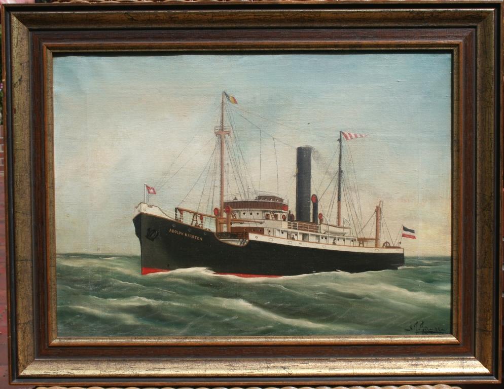 Dampfschiff Adolph Kirsten