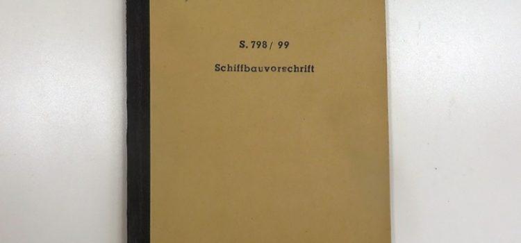 MS Desdemona 1952 – Schiffbauvorschrift (Video)